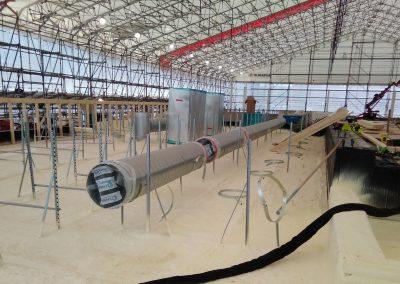 Yläpohjan höyrynsulku 45mm 560m2